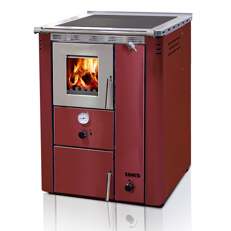 Central heating cooker without oven 35kw senko cookers stoves and fireplaces - Pellet stoves for small spaces set ...