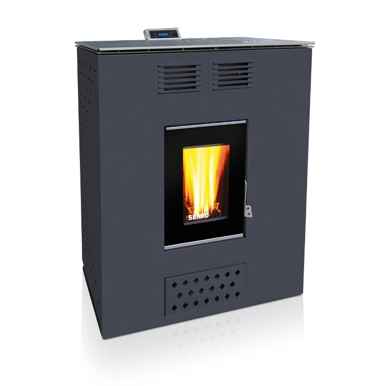Pellet Stove For Central Heating P 12 Slim Water Air